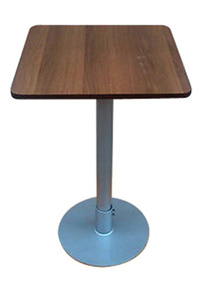 Bistro Cafe Pedestal Table