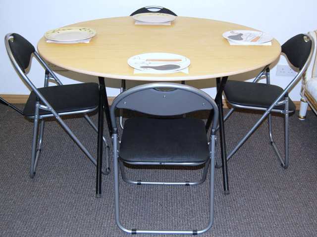 Folding Dinning Table Chairs