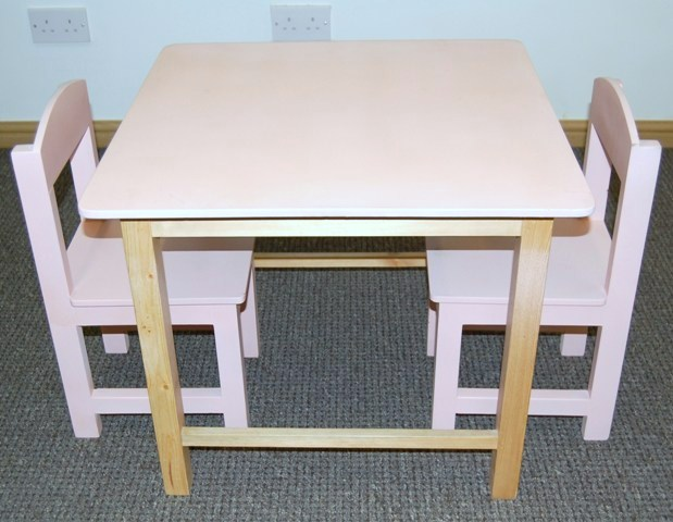 Kids Wooden Table and Chairs / Pre School Furniture