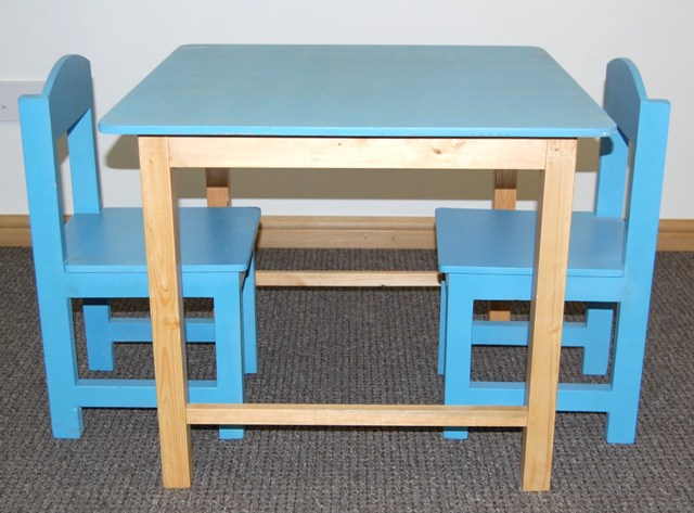 Preschool Table and Chairs / Pre School Furniture