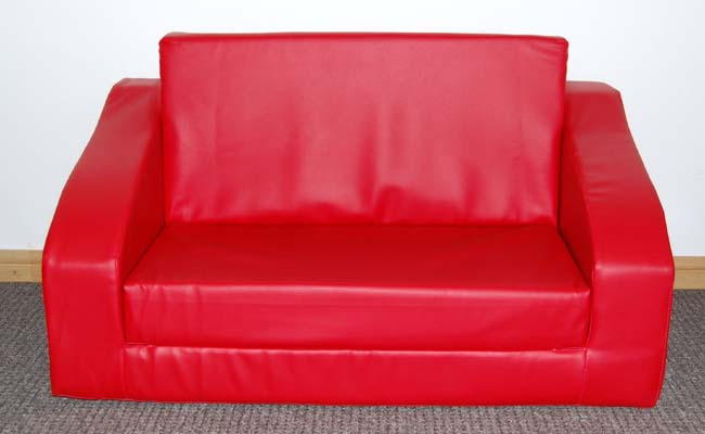 Kids Sofa Bed(Red)