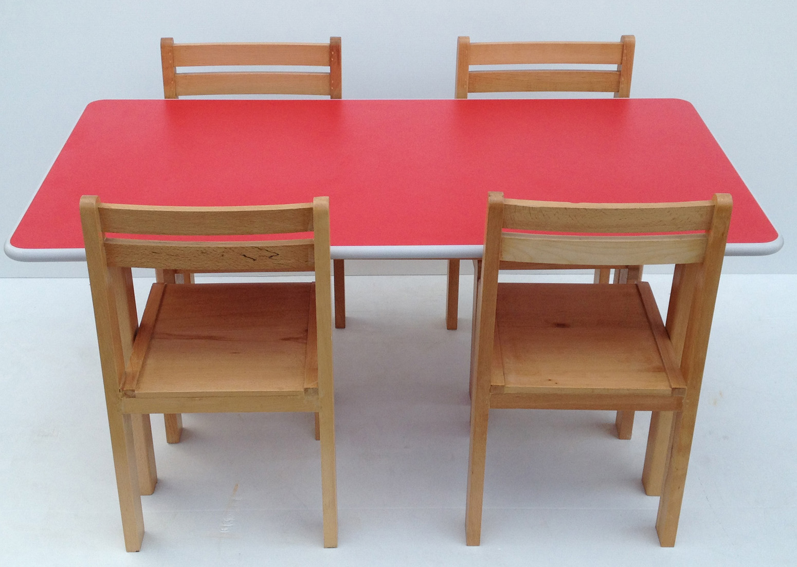 preschool table and chair set. kids preschool beech wood table and chairs set chair & Preschool Table And Chair Set. Kids Preschool Beech Wood Table And ...